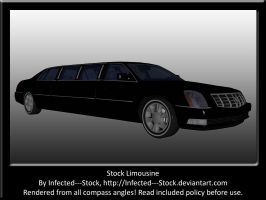 Black Limousine Stock by Infected---Stock