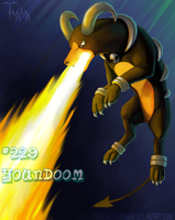Houndoom by Twarda8