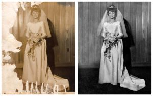 Photo Restoration - First time by mantispid