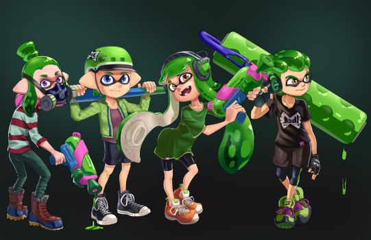 Team Switch Green by Comadreja