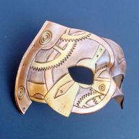 Halfgear Steampunk Mask by merimask