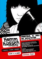 Komm Kuessen Flyer I by rockst3ady