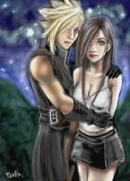 Obligatory Cloud and Tifa Pic by teef