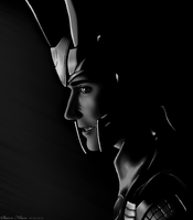 Lurking in the dark - Loki by Ockedy