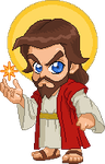 Chibi Jesus by Real-Warner