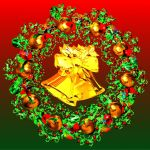 Christmas wreath by BGai