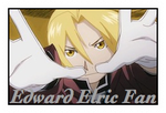 Edward Elric Fan stamp by meg15warrior