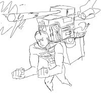 Missle Dude (not finished) by tonyfony