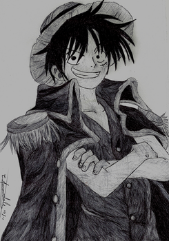Pirate King Luffy by Ratchets-sparkling