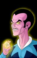 Super 70's Sinestro by Thuddleston