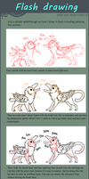 Flash drawing walkthrough by griffsnuff
