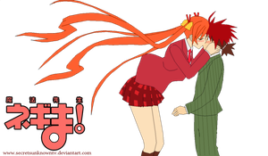 Negima: A Kiss from me to you by K-ame