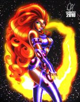 Starfire by Cahnartist