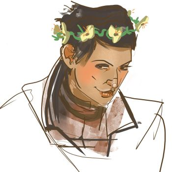 Flower crown by Kenu