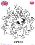 Princess Palace Pet Sundrop coloring Page by SKGaleana