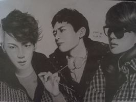 SHINee Key Minho Onew by DENITSED