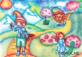 Le Magicien d'Oz (The Wizard of Oz) by BriocheOLE