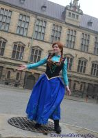 Anna Frozen by envoysoldiercosplay
