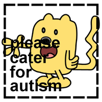 Wubbzy: Please Cater For Autism stamp by dev-catscratch