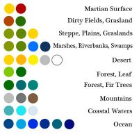 Easy Color Palette for Maps by stratomunchkin