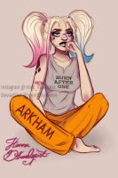 Bored Harley is bored by Heir0fSlytherin
