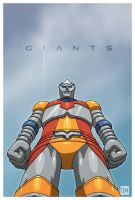 Giant - Jet Jaguar by DanielMead