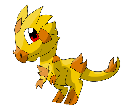 Thorny devil fakemon by Cyclone62