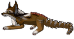Bear's pose, completed. by WhiteThorn13