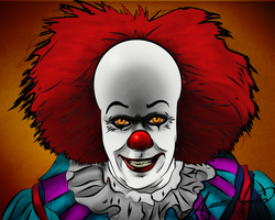 Pennywise Portrait by smthcrim89