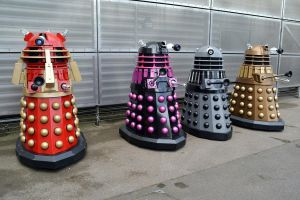Daleks at Brit Sc-Fi Weekend NSC 2015 (3) by masimage