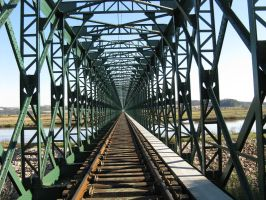Railroad Bridge by rjdp1