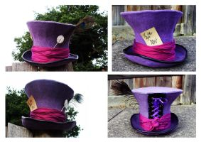 Mad Hatter's Hat by RhynWilliams