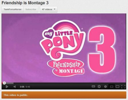 Friendship is Montage 3 by pinkiepiestyle