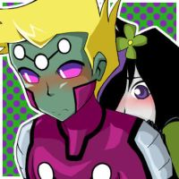 Brainiac 5 and Violet by taihiwatari