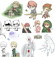 Pchat and iScribble dump 5 by Owyn-Sama