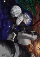 Night Of Ninja ( kakashi ANBU fast drawing ) by spinoza1996