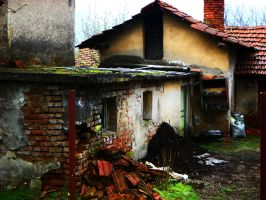 Stock Old House by fcuckov