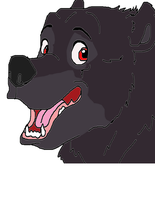 Redeyes brother bear style by LOST09