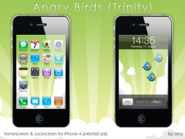 Angry Birds -Trinity- iPhone by Letyi