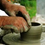 Working Hands, The Potter by EarthHart