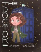 8th Doctor (Paul McGann) As a Chibi :3 by HavocGirl