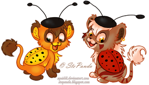 Ladybugs by StePandy