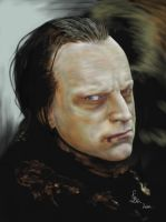Wormtongue painting by Leen-galeas