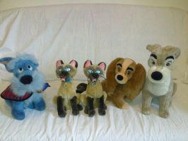 The Lady and the Tramp plush by Frieda15