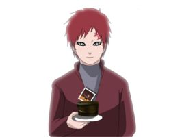 gaara for kaitlyn by AnnriAndrea