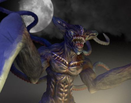Kaiju Monster Another Test by nemesis222