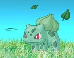 - 001: Bulbasaur - by kinky-angel