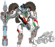 Wheeljack by Tyrranux