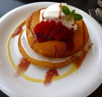Strawberry Pancake by melanie12271994
