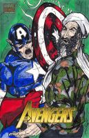 Cap Vs Osama by MChampion